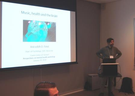 Aniruddh Patel, PhD, Professor of Psychology Tufts University, explained how music is having amazing and wonderful results on Autism, Alzheimer and Parkinson patients.