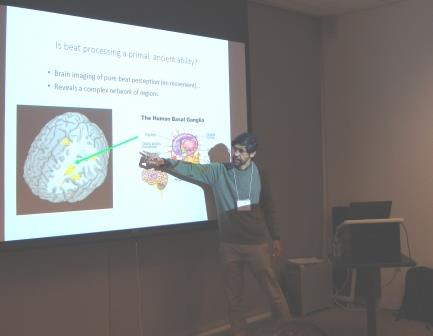 He also discussed how music cognition has a special relationship between music and language (the topic of his 2008 book,  Music, Language, and the Brain ) and the processing of musical rhythm.