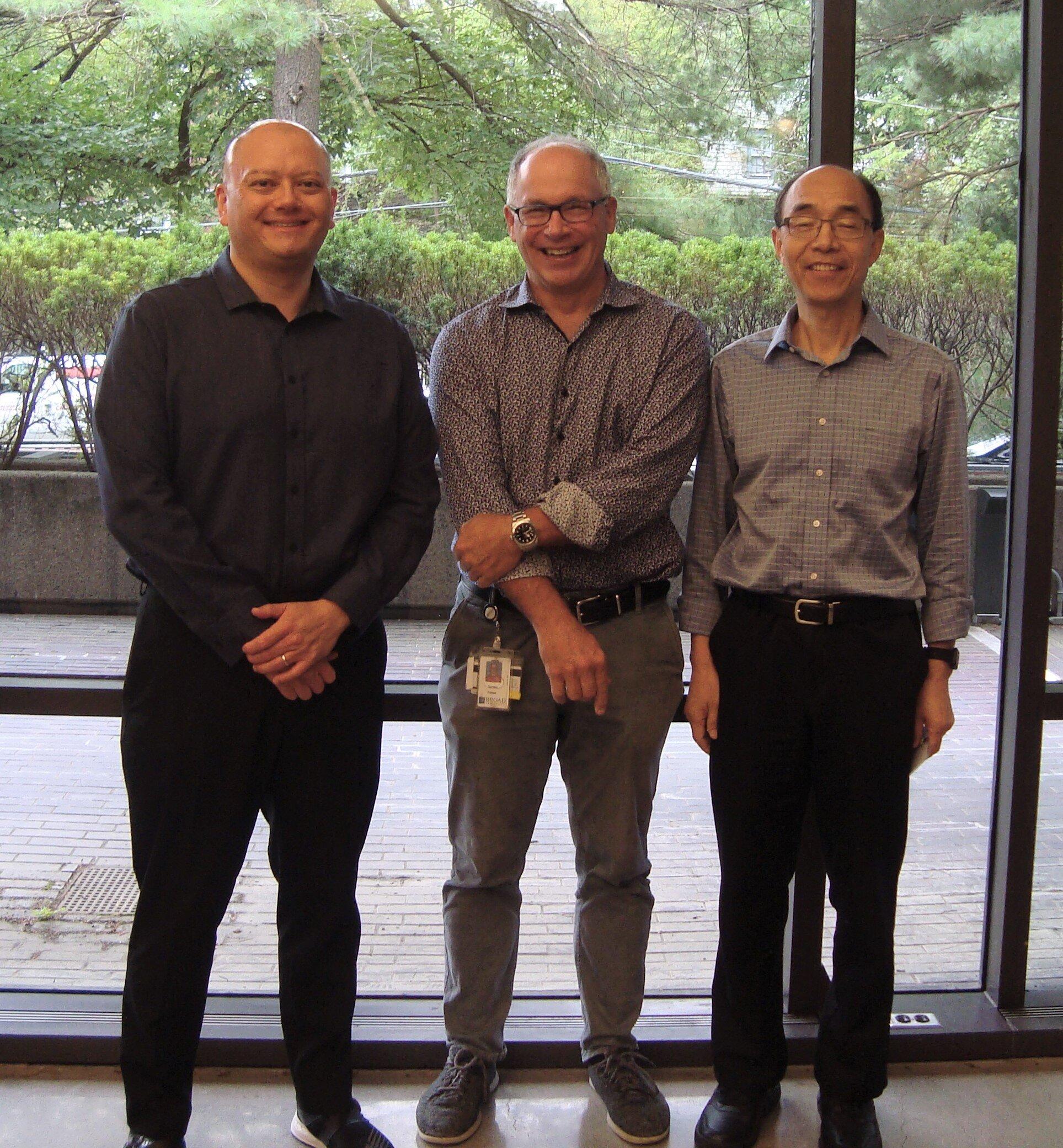Conte 2019 Retreat: Drs. Hensch, Fishell, Feng