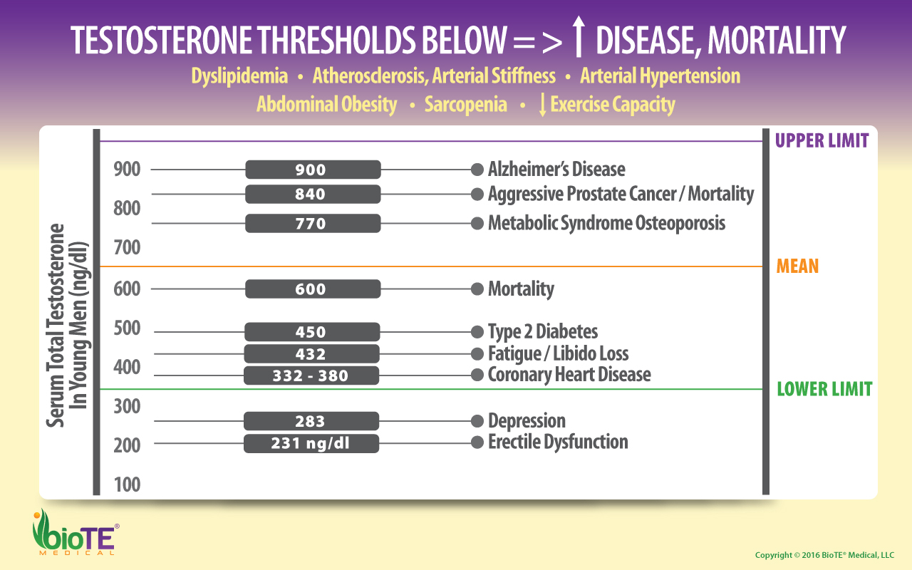 Male Testosterone Thresholds