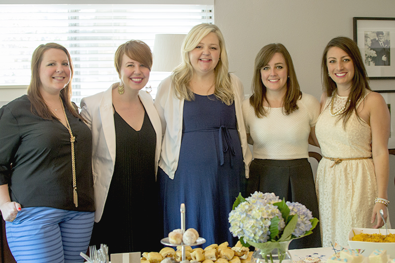 And here are the shower hostesses with our Baby Mama. Congrats, Amy! Also, s/o to Elizabeth for taking my photos today. You're a dear.