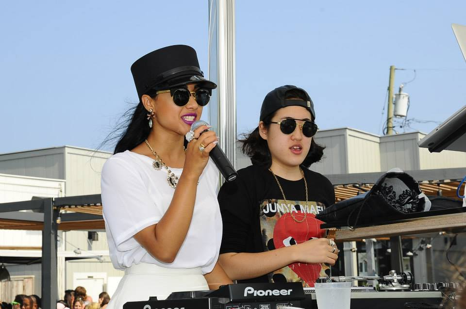 Natalia Kills performing at Sound Waves