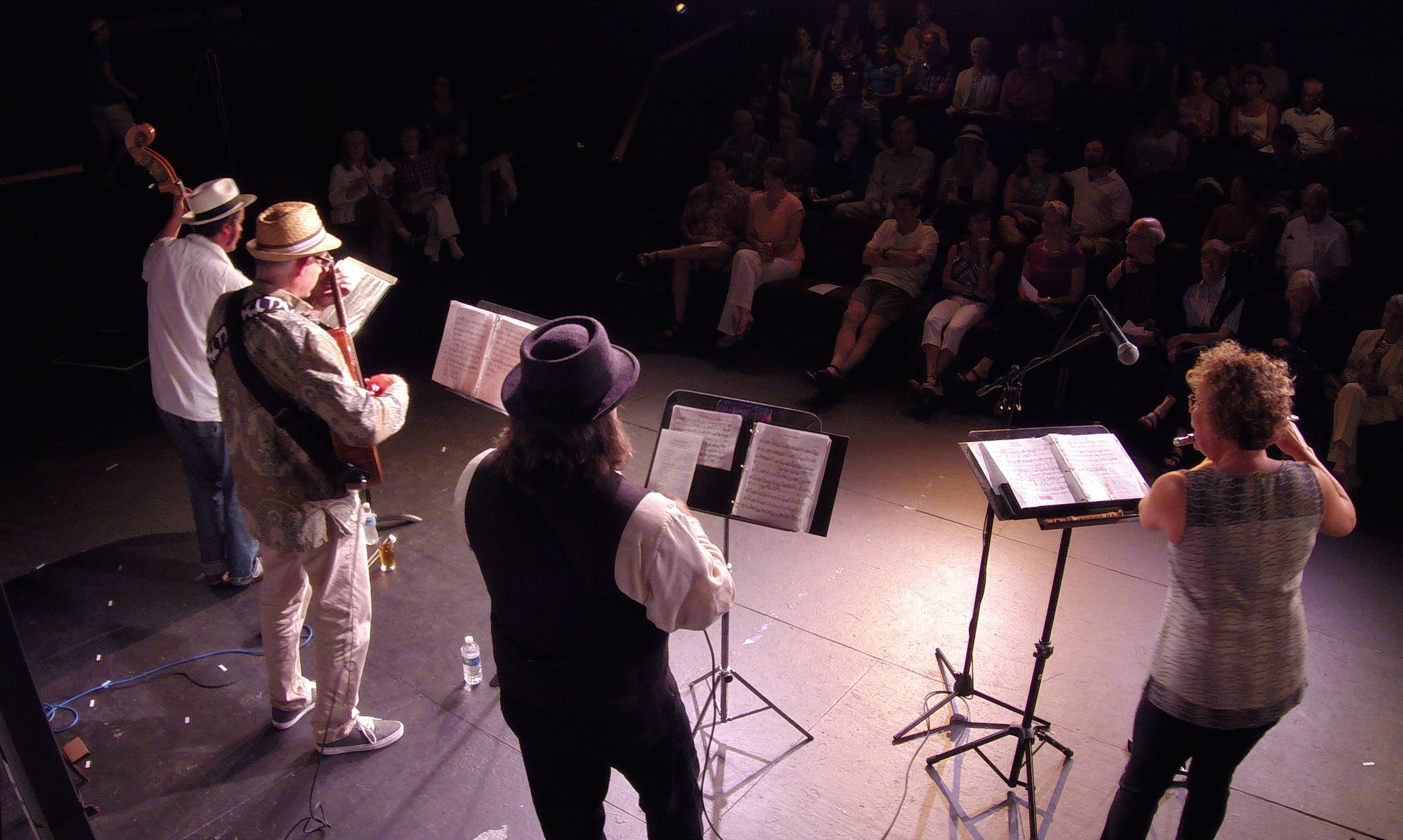 """Tom Performing with his newest group """"Porto Seguro"""", at Pure Theatre, Charleston SC."""