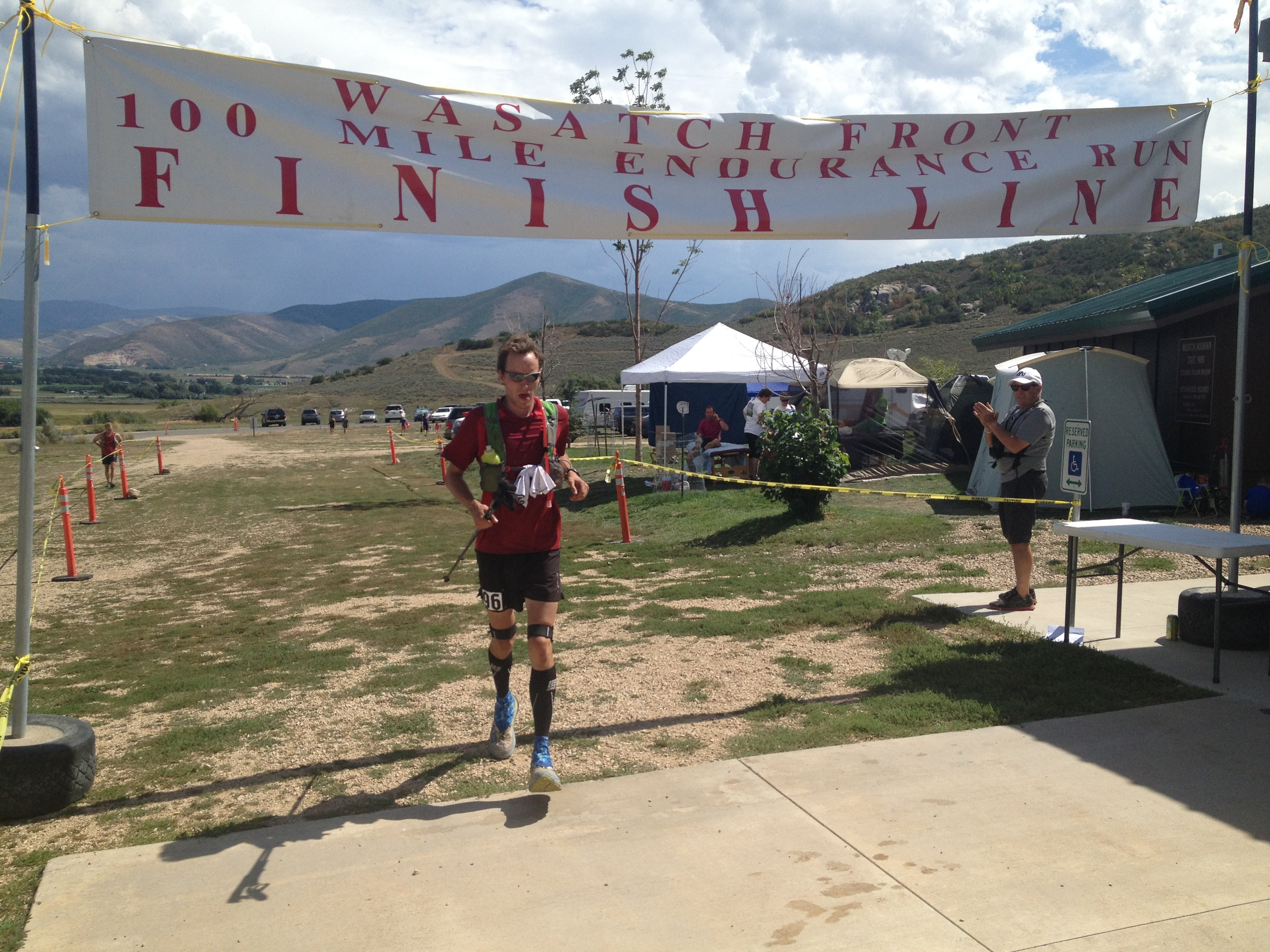 Finish of the Wasatch 100 2013 Photo Credit: Cameron Bell