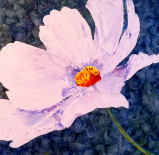 """""""Blowing Cosmos"""" Watercolour on Yupo"""