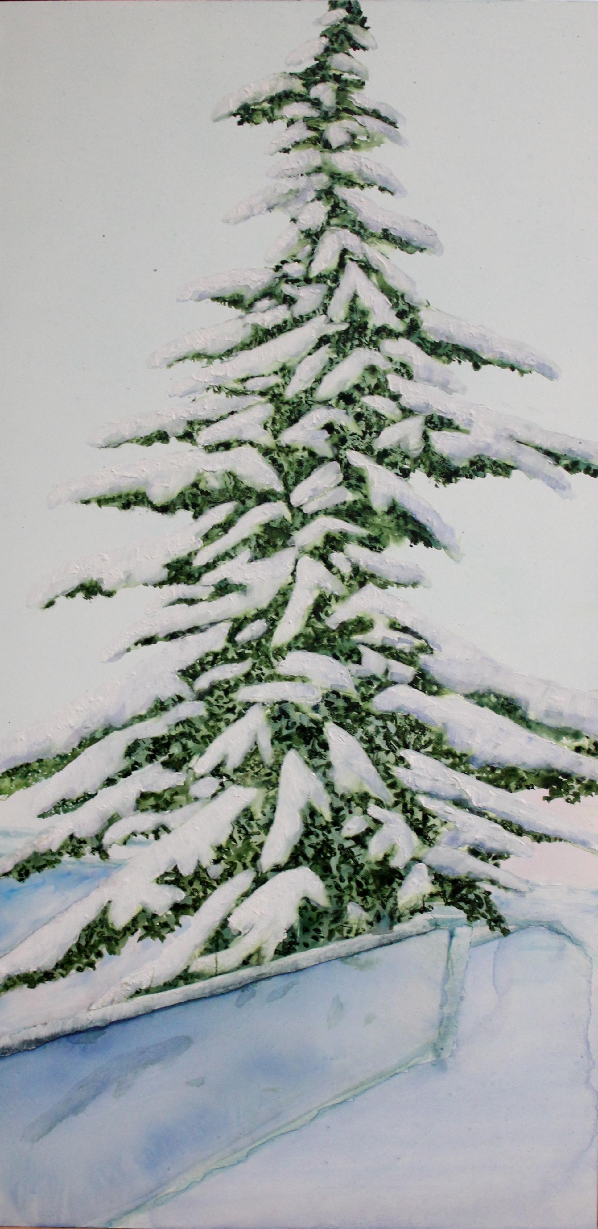 Snowy in Kensington