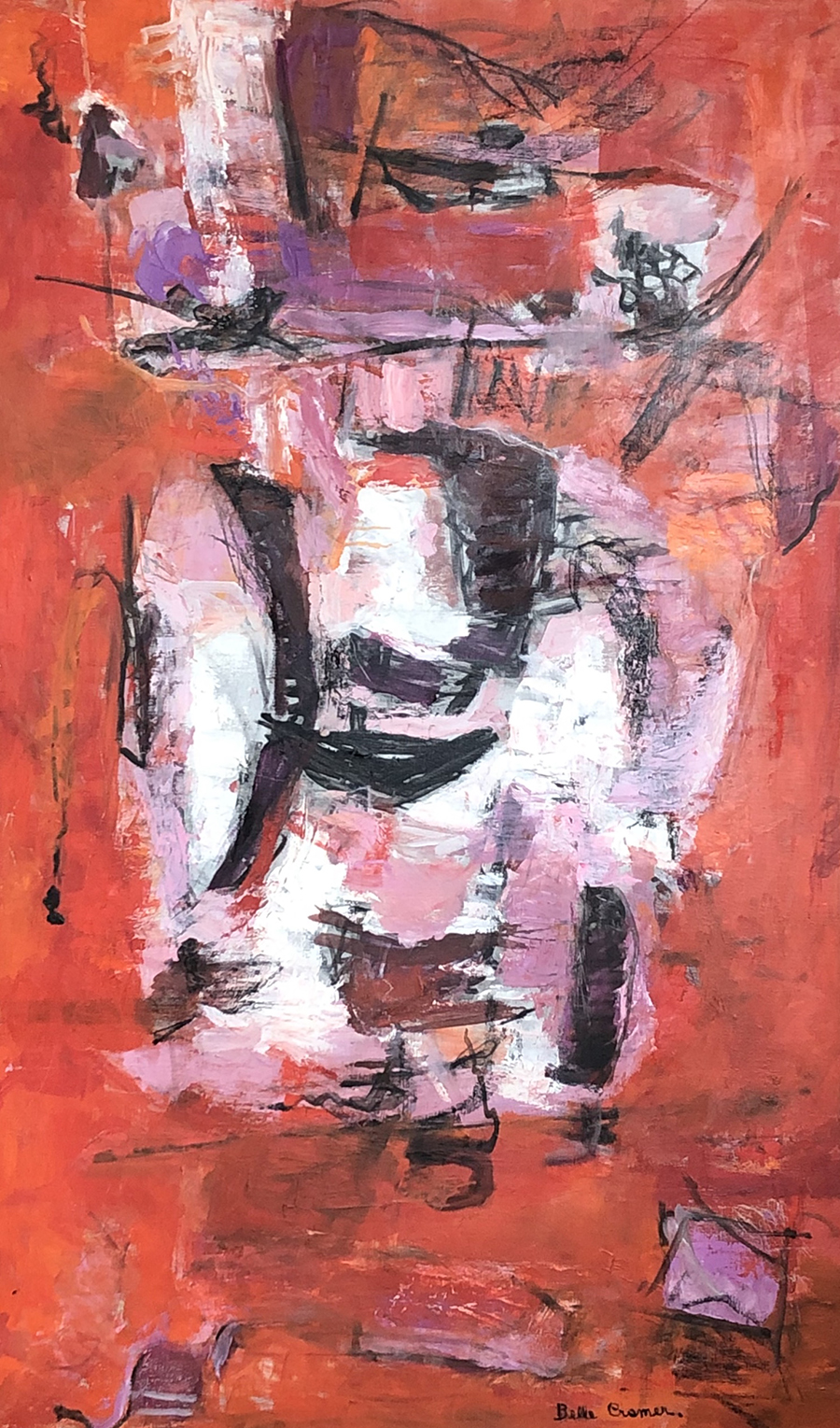 Red Painting, 1963
