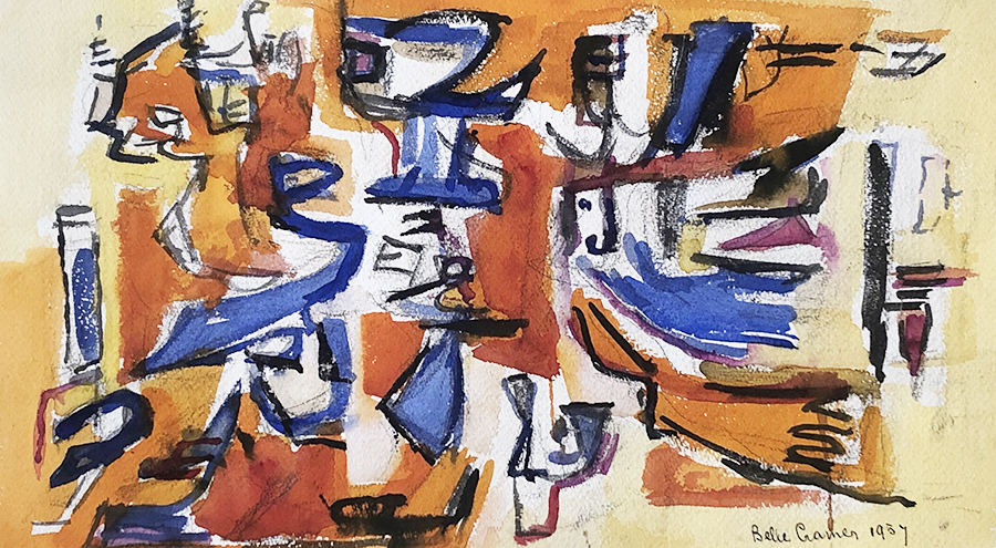Ride to Destiny, 1957 - SOLD