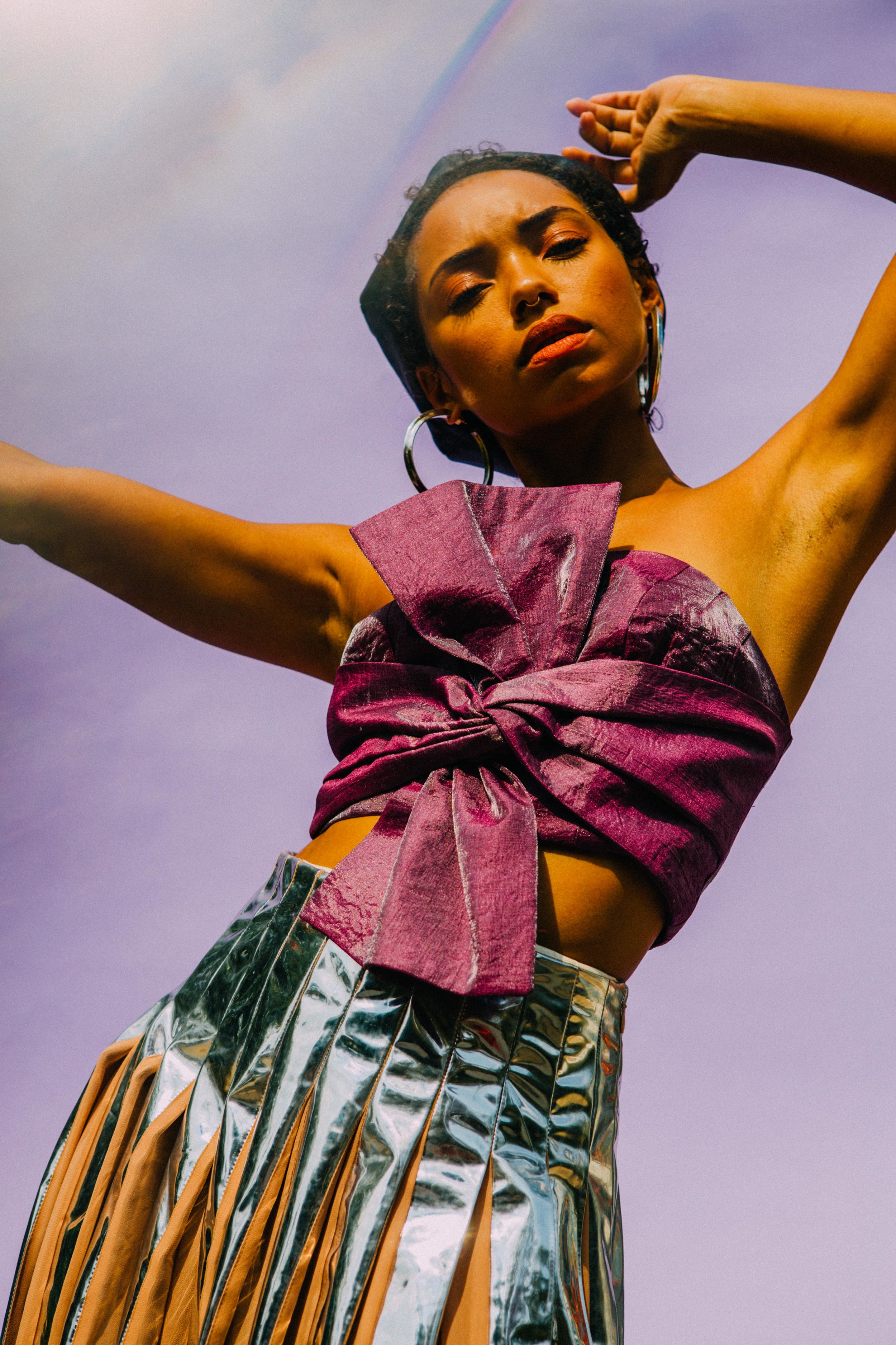 Logan Browning x Refinery29