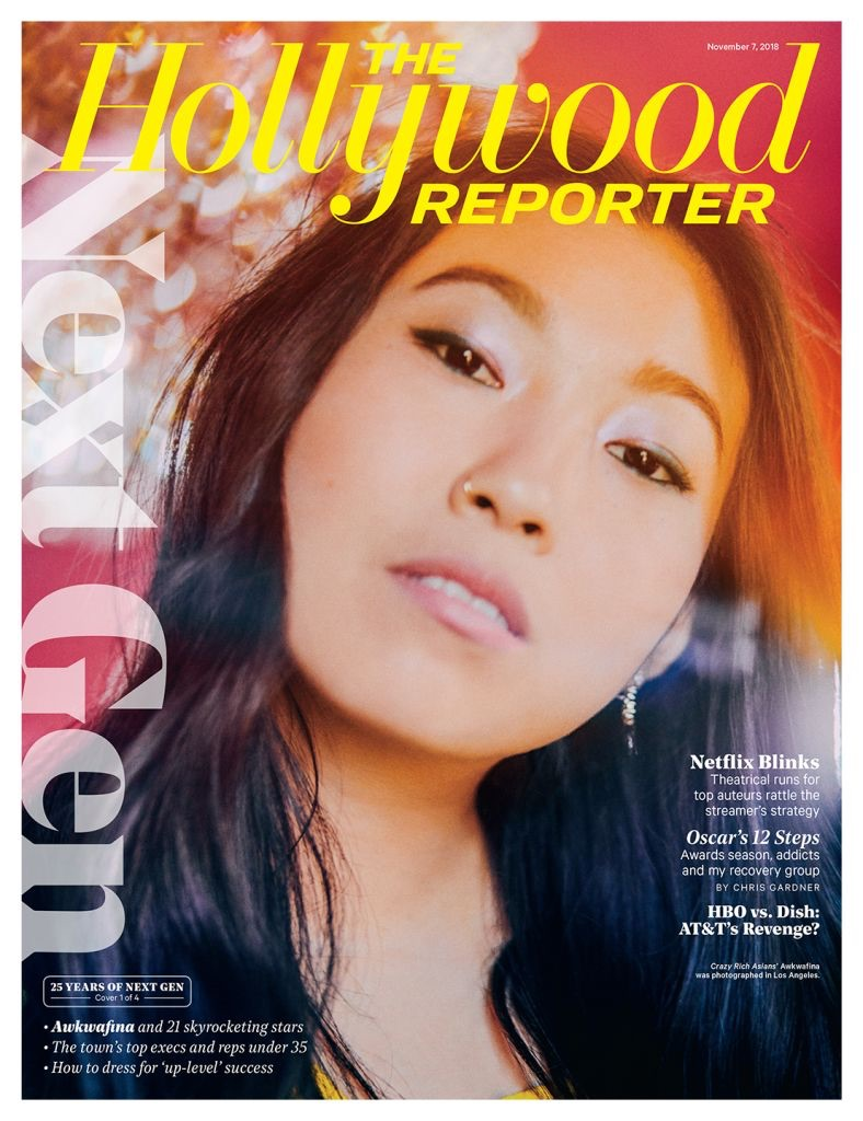 Awkwafina x The Hollywood Reporter