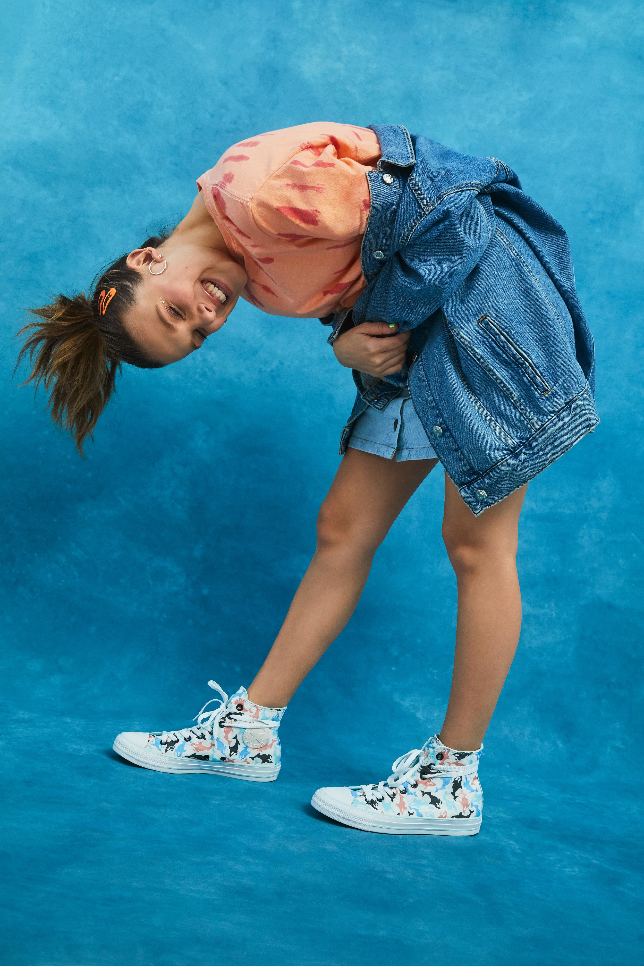 Converse x Millie Bobbie Brown