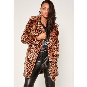 Missguided Leopard Coat