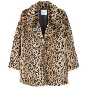 Mango Leopard Coat