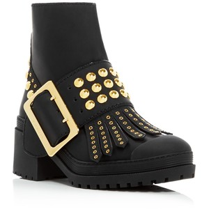 Burberry Whitchester Studded Buckle Booties