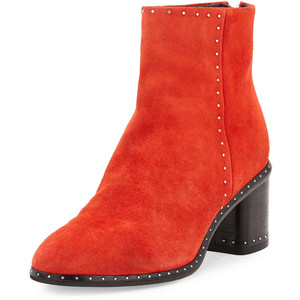 Rag & Bone Willow Studded Leather Ankle Boot