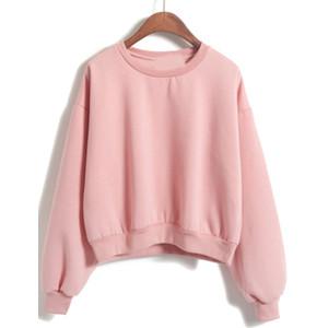 Chic Pink Sweatshirt