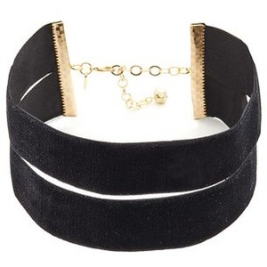 Vanessa Mooney The Effie Velvet Choker Necklace