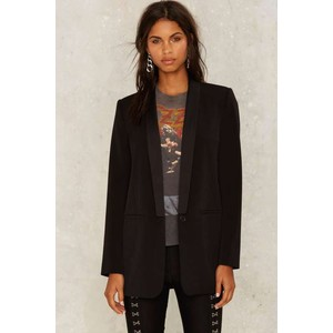 Nasty Gal Collection Ensemble Oversized Blazer