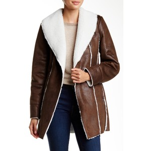 Kenneth Cole New York Faux Shearling Coat