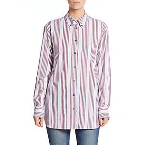 Equipment Margaux Striped Button-Down Shirt