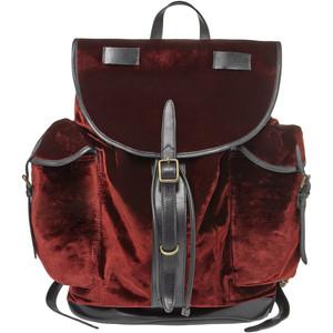 Dries Van Noten Velvet Backpack