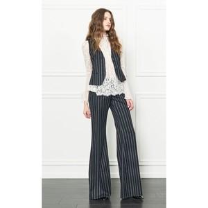 Rachel Zoe Hartley Pinstripe Vest