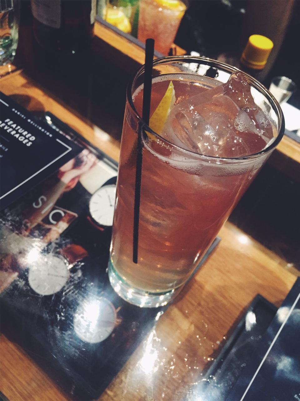 "Daniel Wellington specialty cocktail ""The Swedish Pearl"""