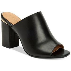 Calvin Klein Women's Cicelle Peep-Toe Mules
