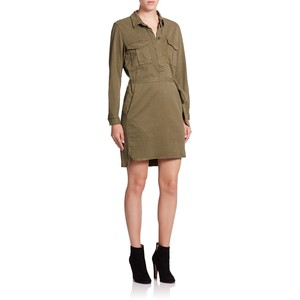 SET Long-Sleeve Shirtdress