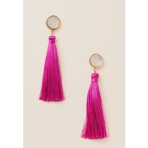 HOLLY DRUZY TASSEL DROP EARRING