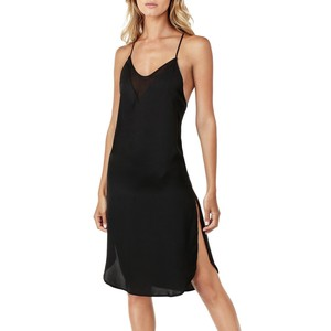 DKNY Solid Scoopneck Slip Dress