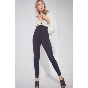 Silence + Noise High-Rise Corset Skinny Pant