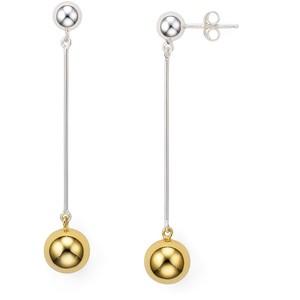 Argento Vivo Ball Drop Earrings