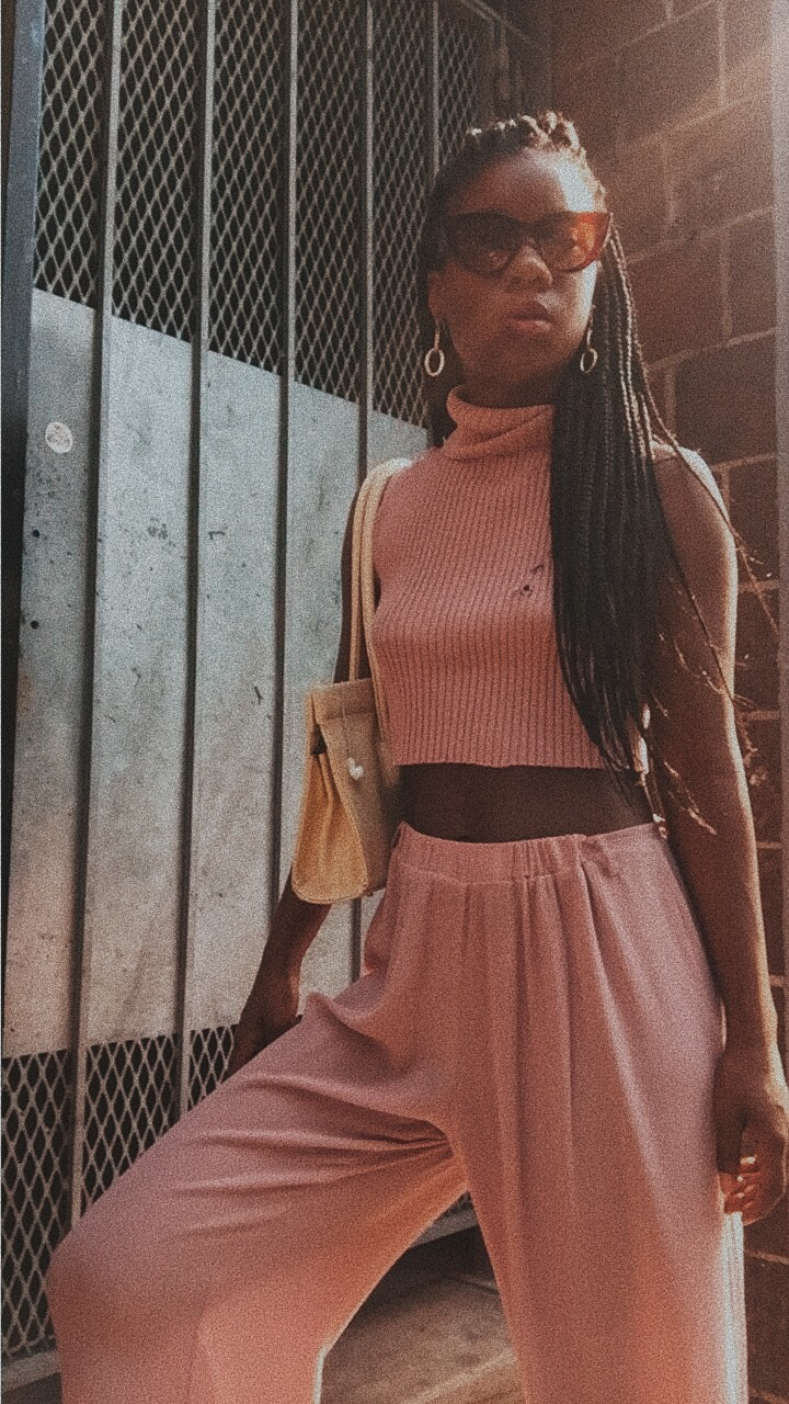 Millennial Pink outfit