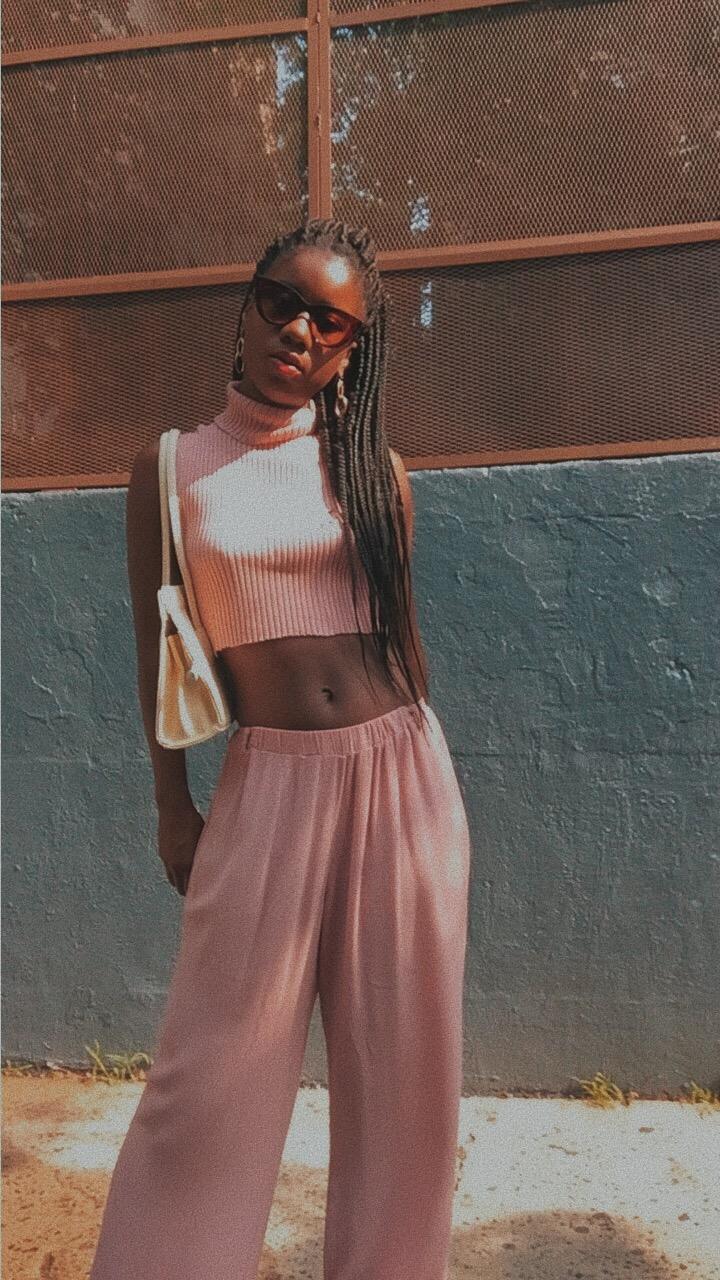Millennial Pink style