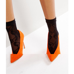 ASOS Lace Mesh Ankle Sock