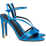 TIBI Vivian Satin Heeled Sandals