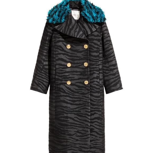 Kenzo x H&M Long Wool-Blend Coat