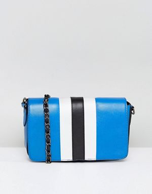 ASOS Sport Stripe Cross Body Bag