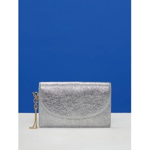 Metallic Saddle Evening Clutch