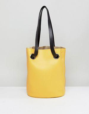 Pieces Colored Bucket Bag