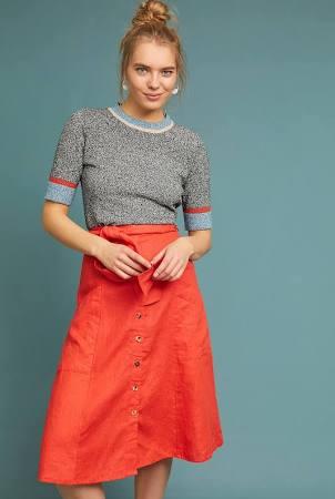 Faithfull Linen Skirt
