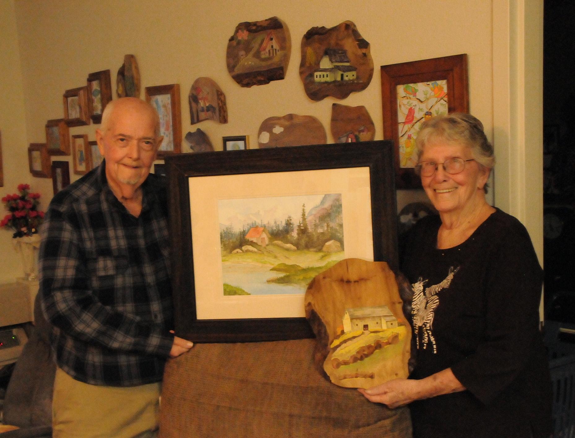 Don Cox and Wanda Thompson