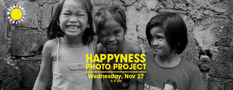The Happyness Photo Project is going to London! Check out our events page for details.