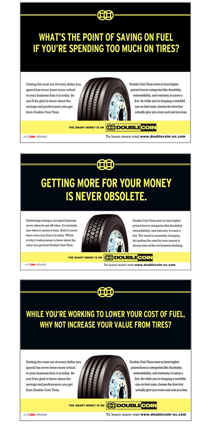 Double Coin truck tires are more than a less expensive option—they're actually a much smarter alternative to the better known brands.