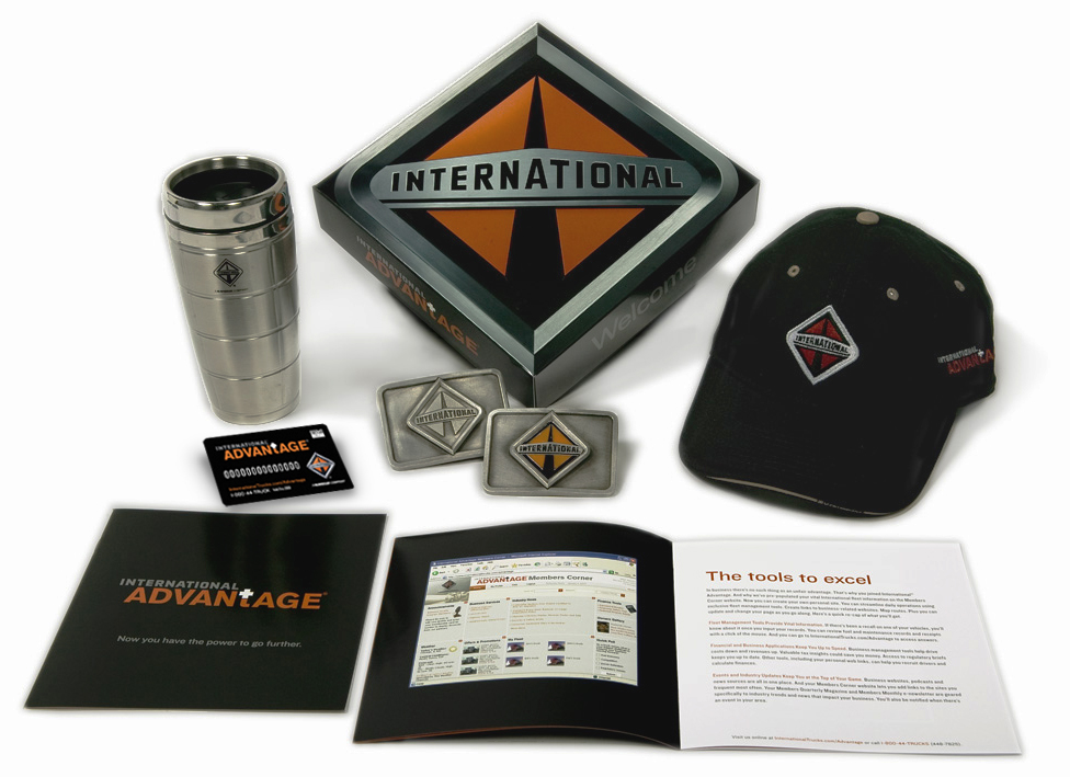 Once enrolled new members would receive their Welcome Kits.