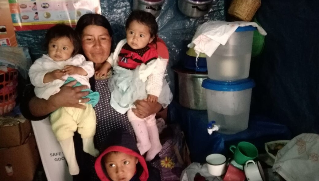 Families - Each and every family in Peru has the right to access clean drinking water. We offer economic and sustainable solutions at a family levelTulip Table Top     Kohler Clarity