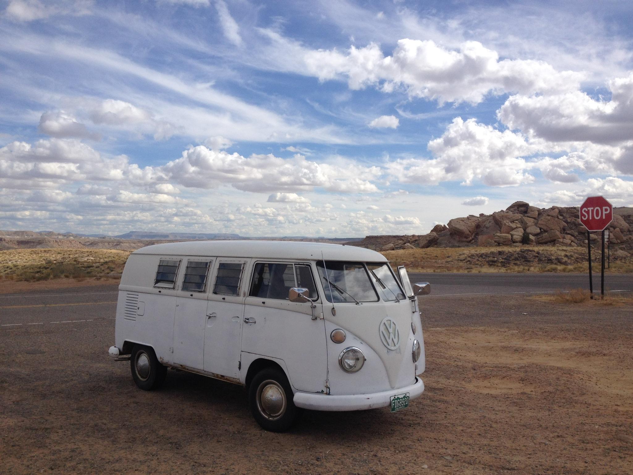 Rita stopped at Four Corners - where Arizona, Colorado, New Mexico, and Utah meet.