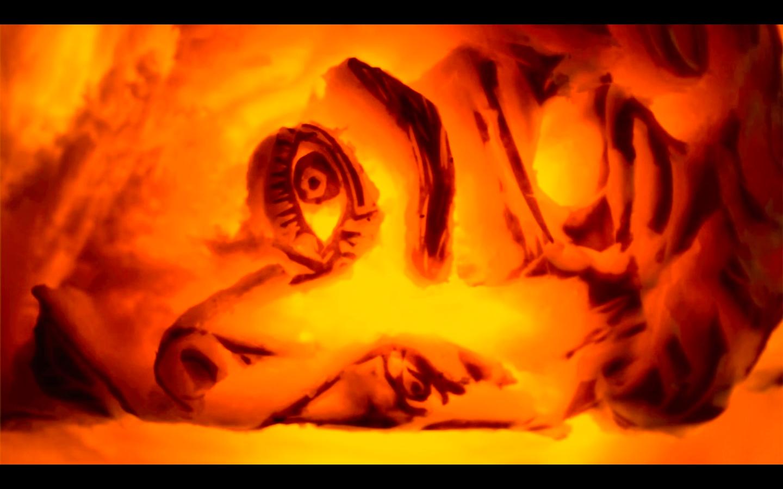 Psych-o-Lantern by Yuliya Tsukerman (Leviathan Bell Scrimshaw)