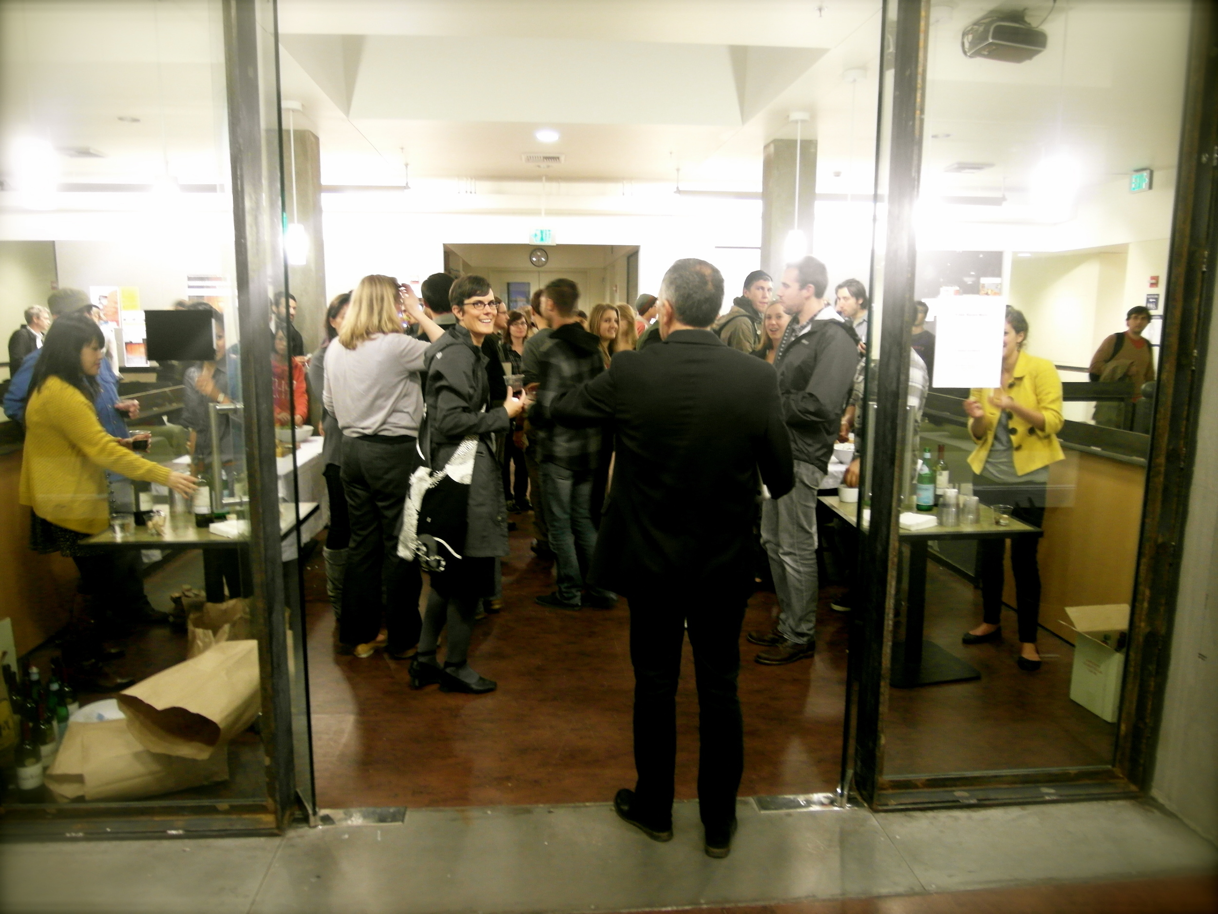 Lecture Reception